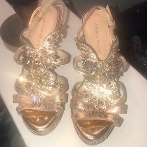 Gorgeous jeweled heels